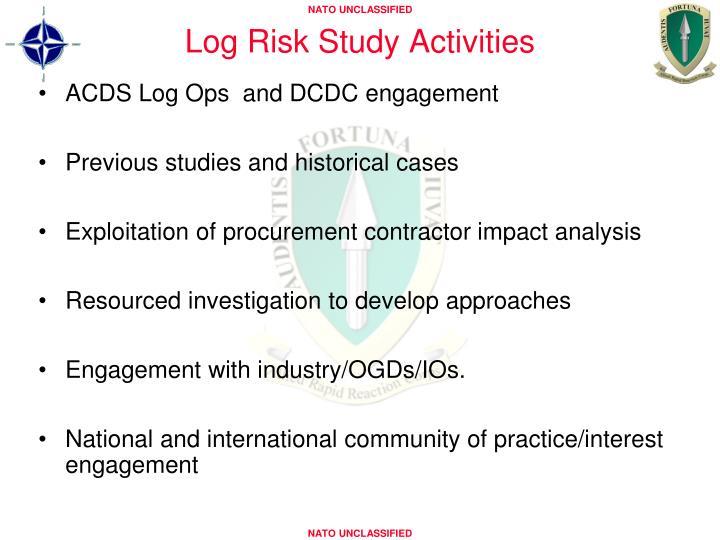 Log Risk Study