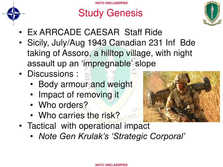 Study Genesis