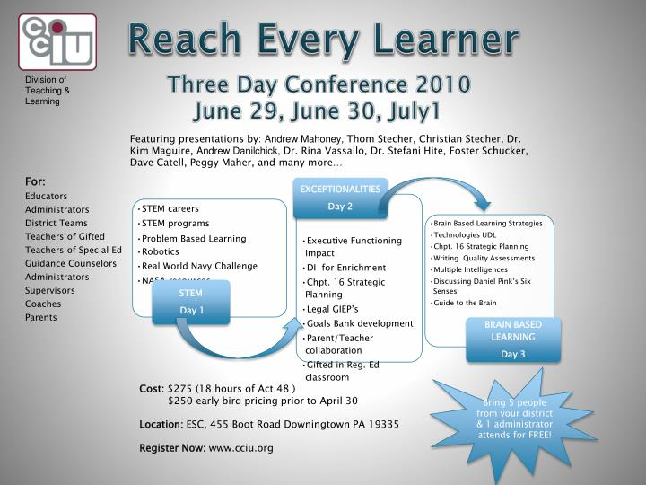 Division of Teaching & Learning