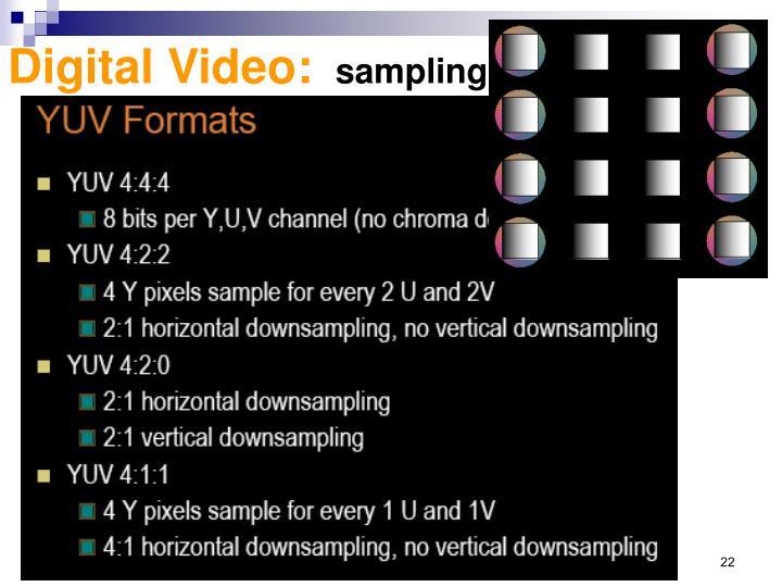 Digital Video: