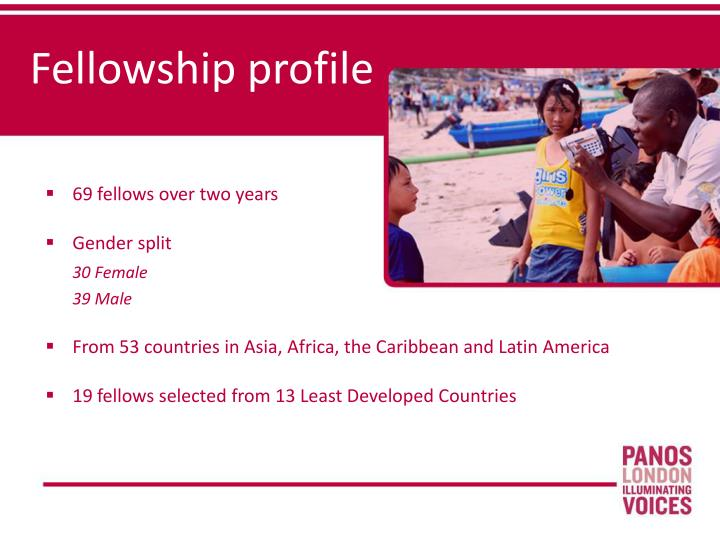 Fellowship profile