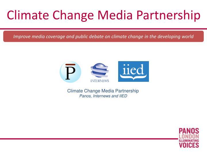 Climate Change Media Partnership