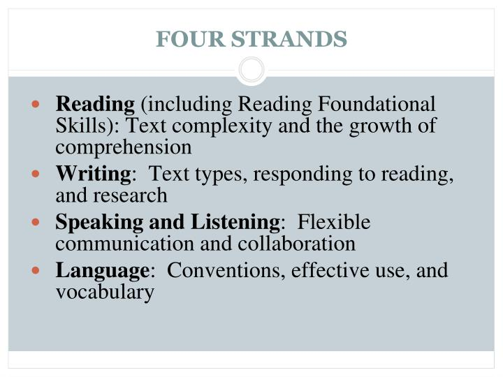 FOUR STRANDS