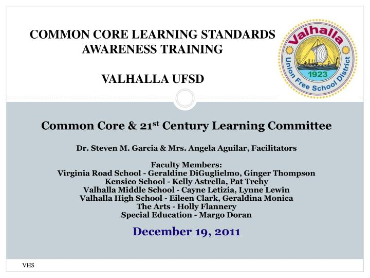 Common Core & 21