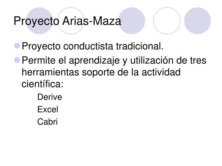 Proyecto Arias-Maza