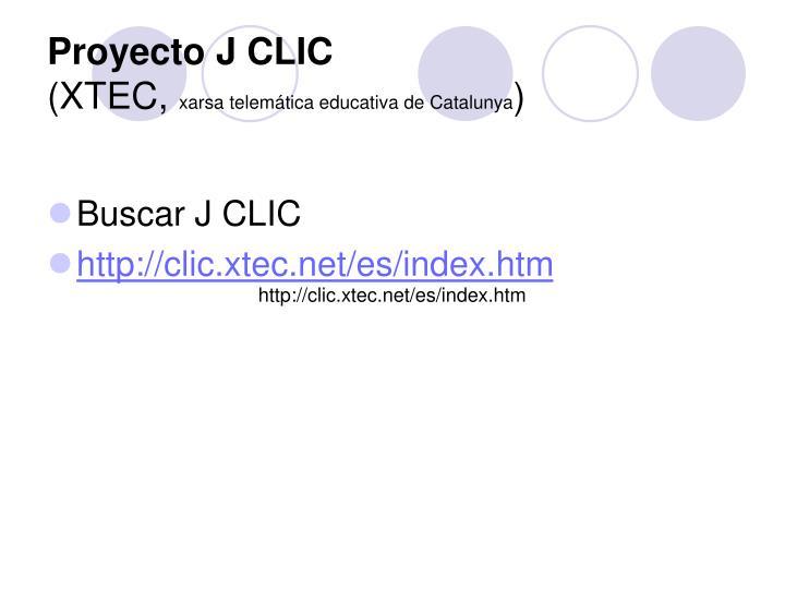 Proyecto J CLIC