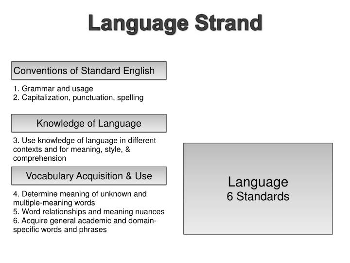 Conventions of Standard English