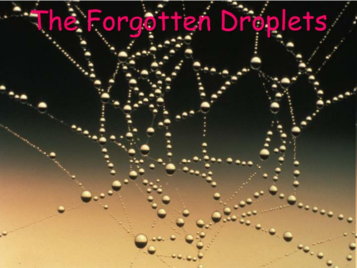 The Forgotten Droplets