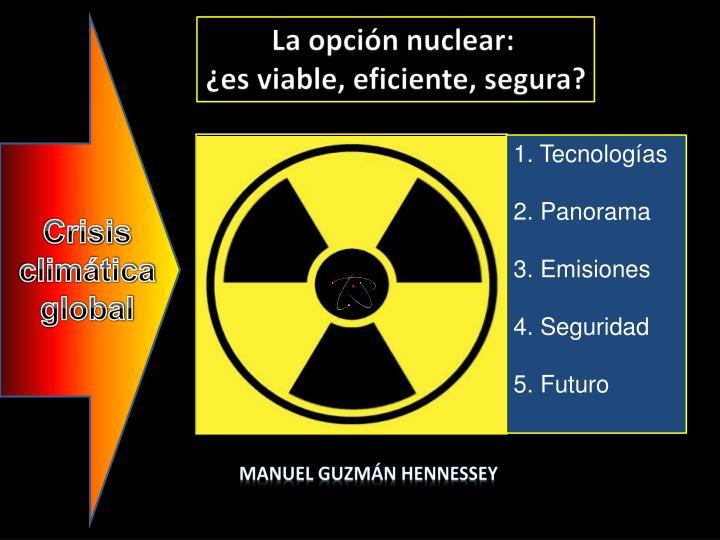 La opción nuclear: