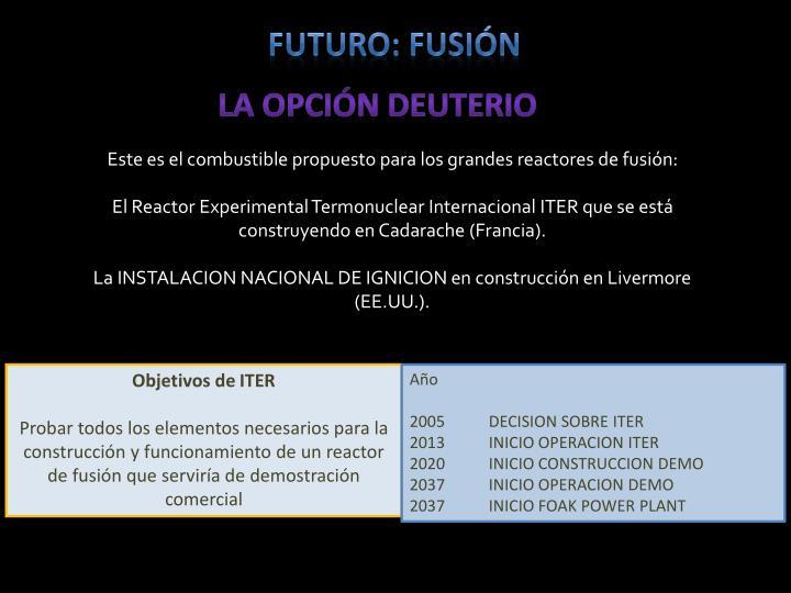 Futuro: fusión