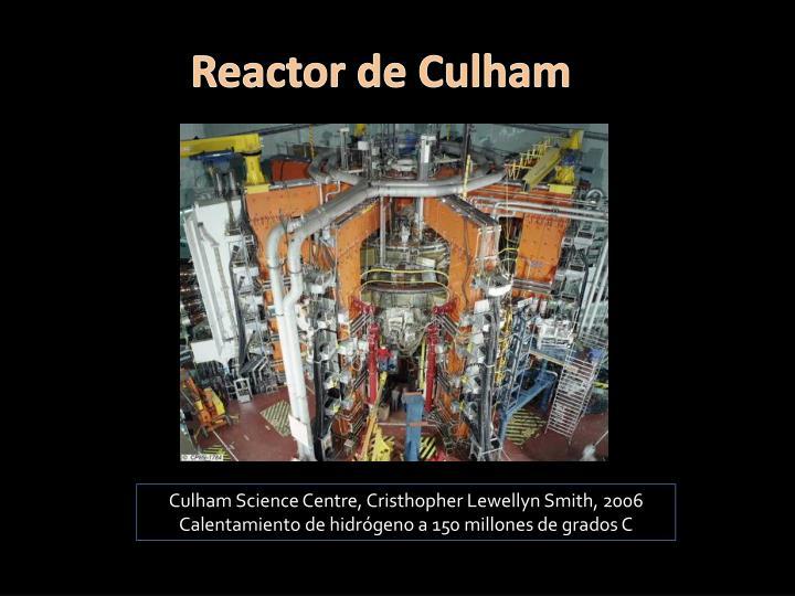Reactor de Culham