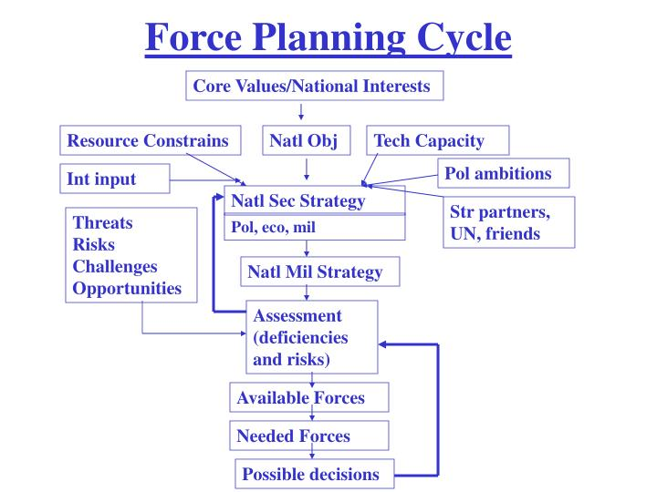 Force Planning Cycle