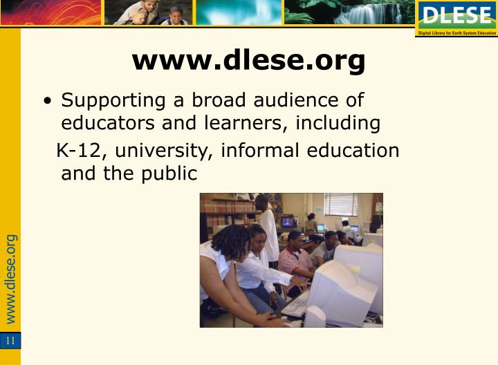 www.dlese.org