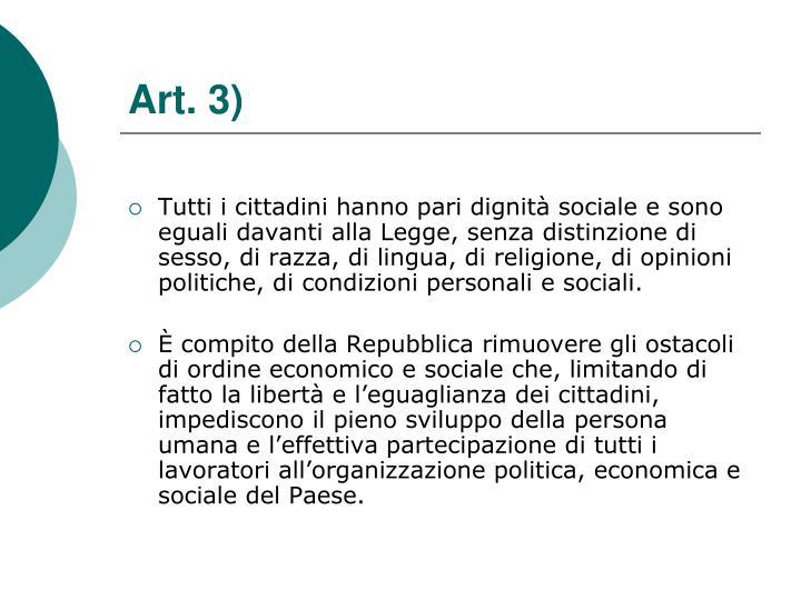 Art. 3)