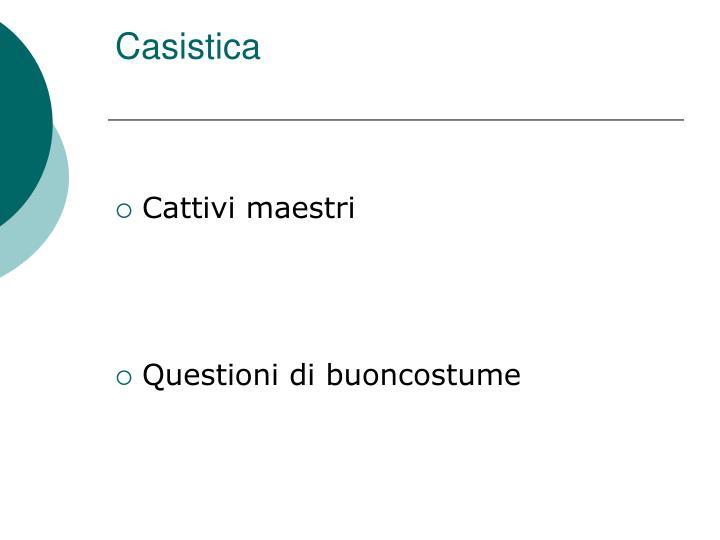 Casistica