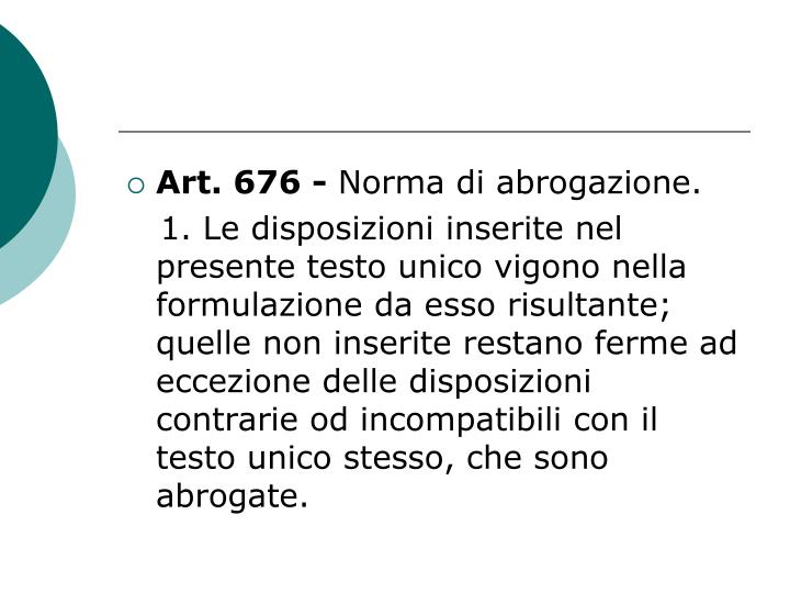 Art. 676 -