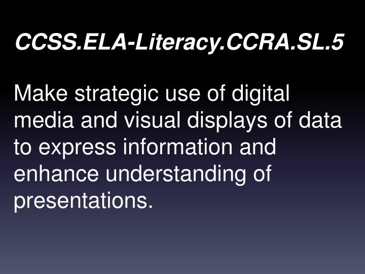 CCSS.ELA-Literacy.CCRA.SL.5