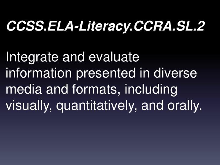 CCSS.ELA-Literacy.CCRA.SL.2