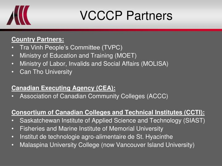 VCCCP Partners