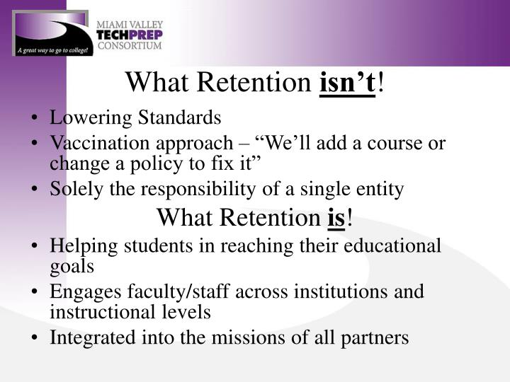 What Retention