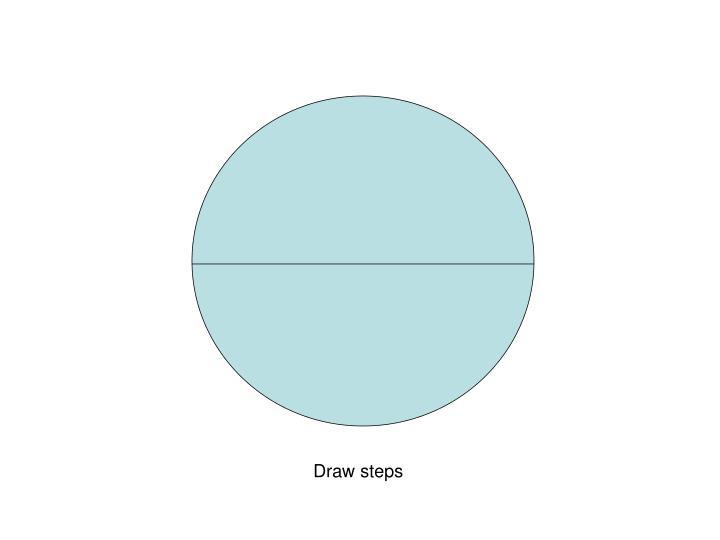 Draw steps