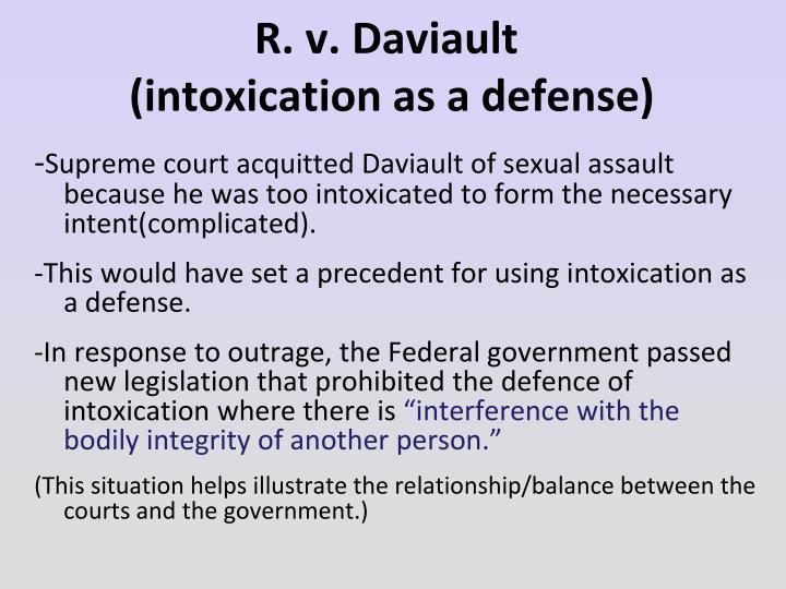 R. v. Daviault