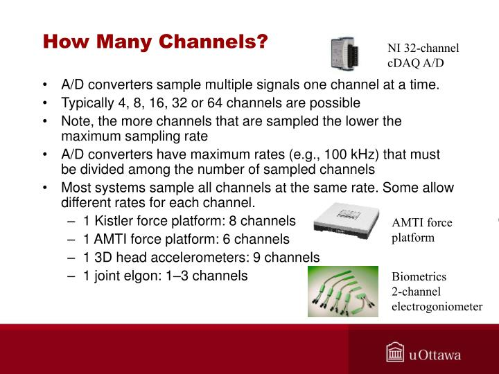 How Many Channels?