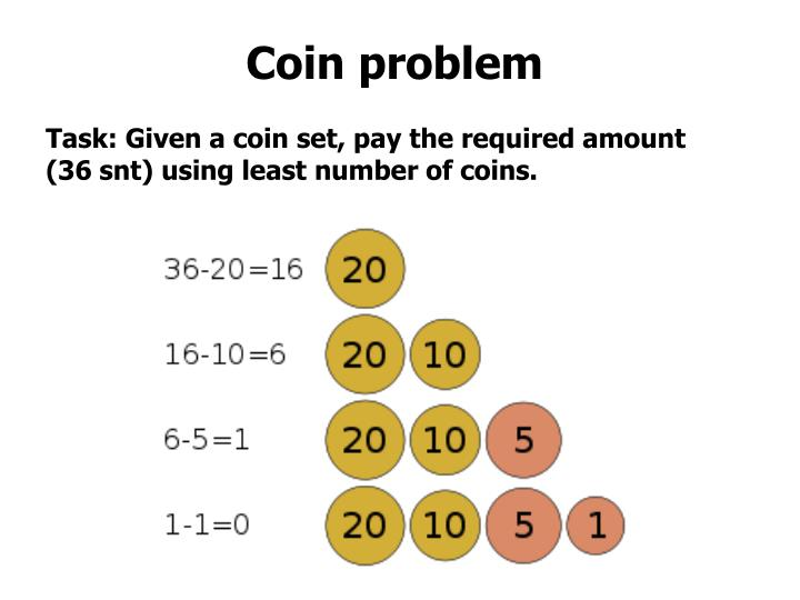 Coin problem