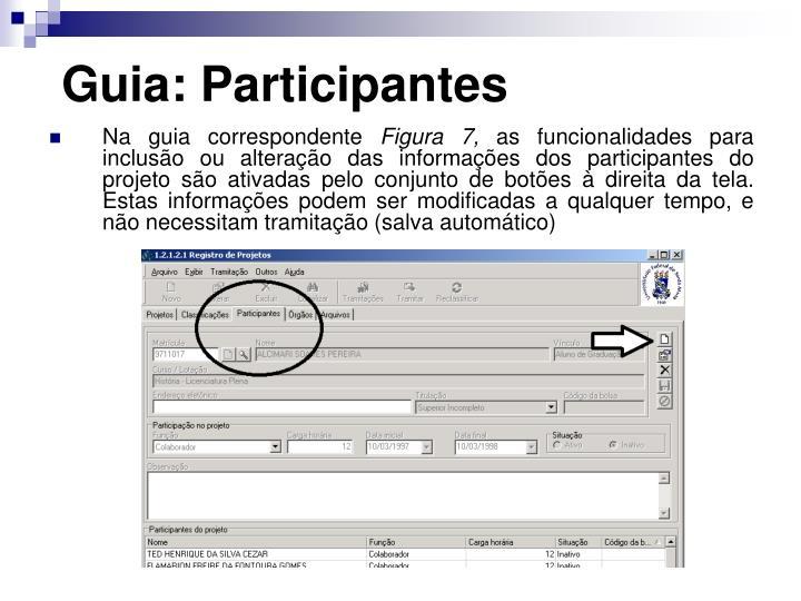 Guia: Participantes