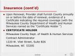 insurance cont d1
