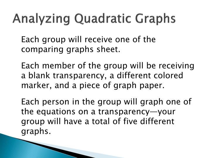 Analyzing Quadratic Graphs