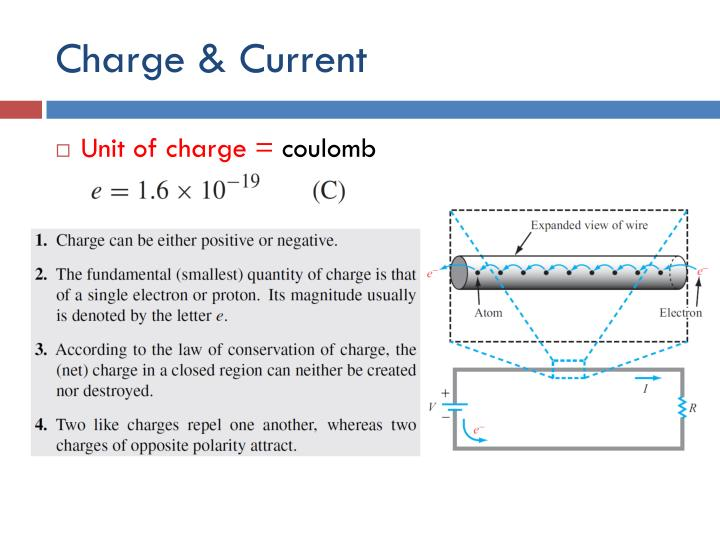 Charge & Current