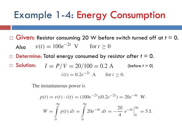 Example 1-4:
