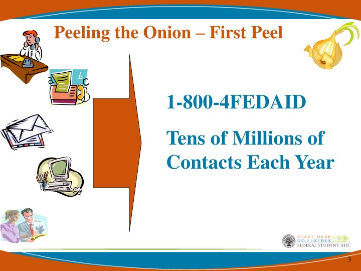 Peeling the Onion – First Peel