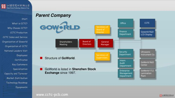 Parent Company