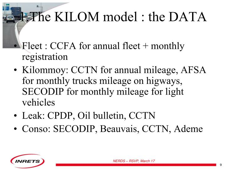 Fleet : CCFA for annual fleet + monthly registration