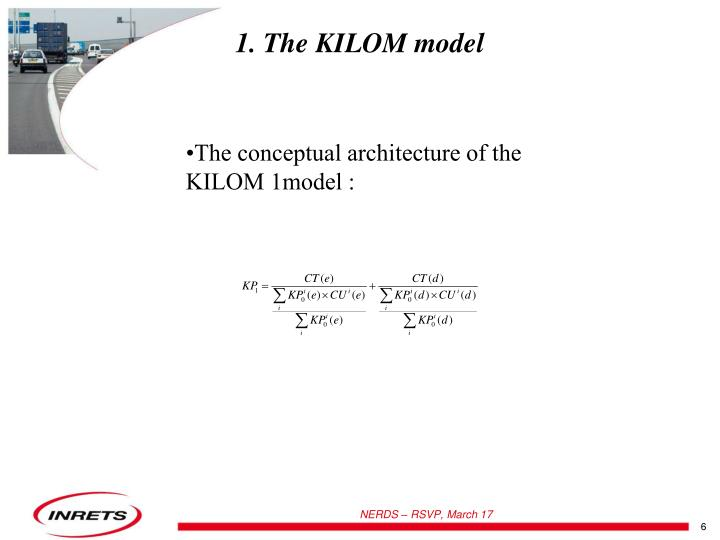 1. The KILOM model