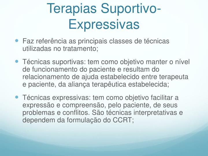 Terapias Suportivo-Expressivas