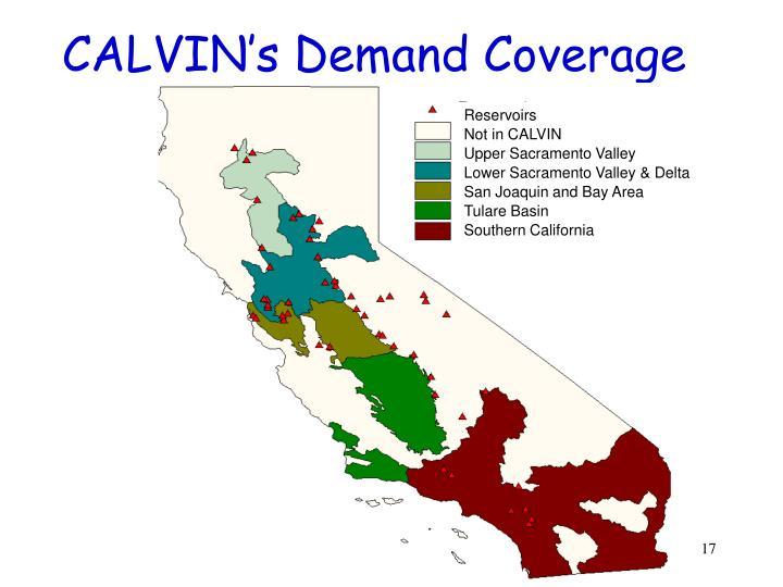 CALVIN's Demand Coverage