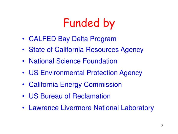 CALFED Bay Delta Program