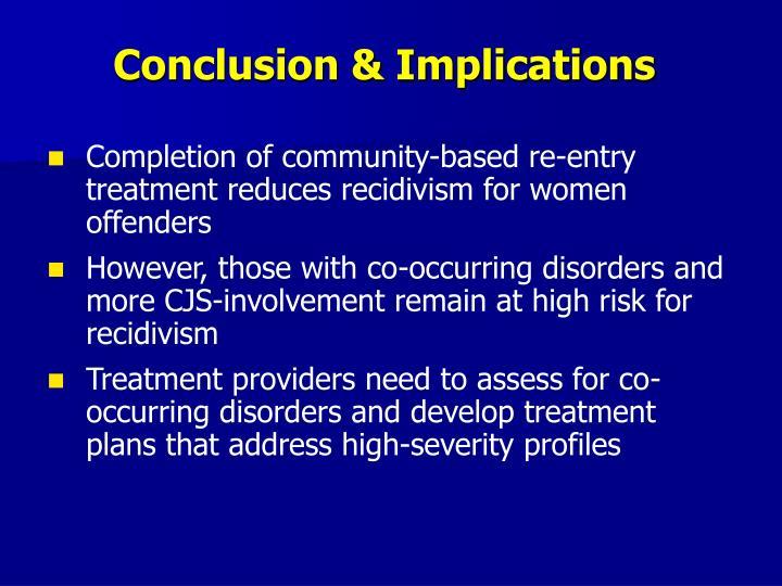 Conclusion & Implications