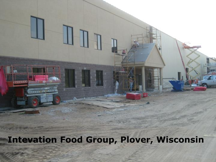 Intevation Food Group, Plover, Wisconsin