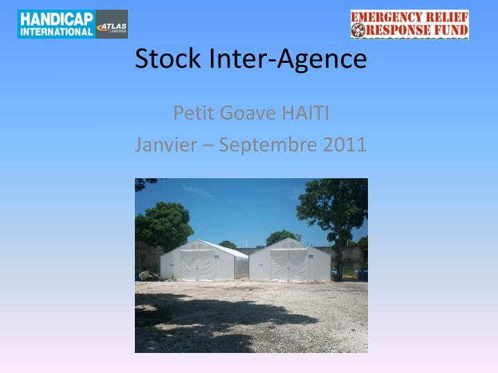 Stock inter agence