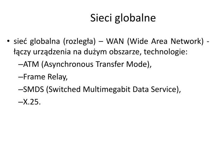Sieci globalne