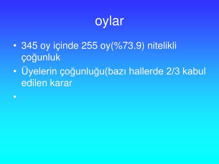 oylar