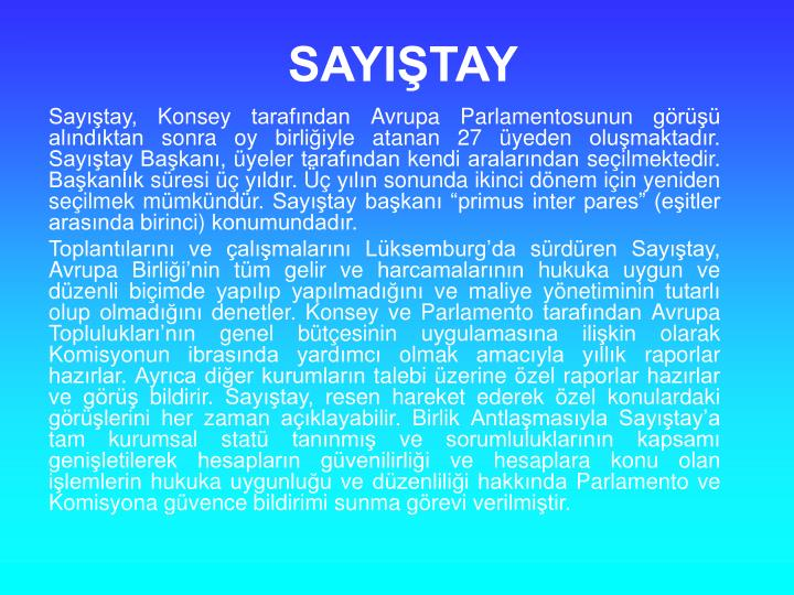 SAYITAY