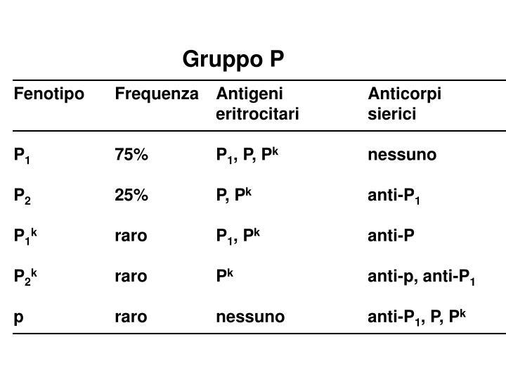Gruppo P