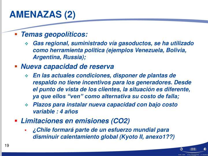 AMENAZAS (2)
