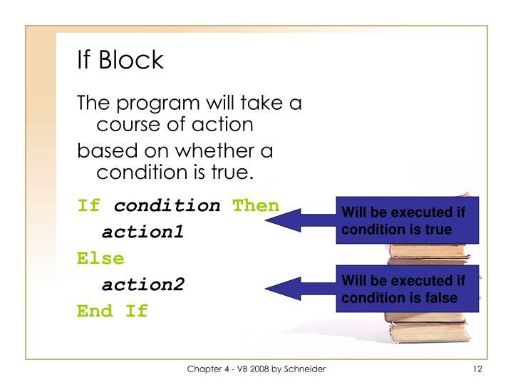 If Block