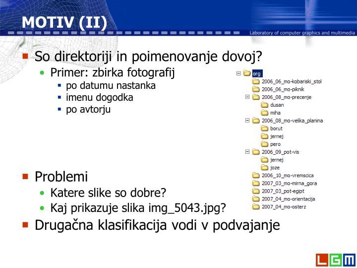MOTIV (II)